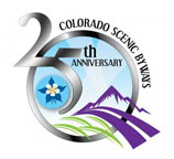 Visit State of Colorado page about the 25th anniversary of Colorado Scenic By-Ways